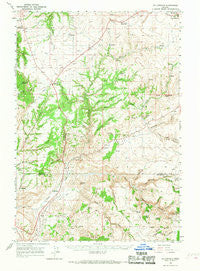 Willowdale Oregon Historical topographic map, 1:62500 scale, 15 X 15 Minute, Year 1966