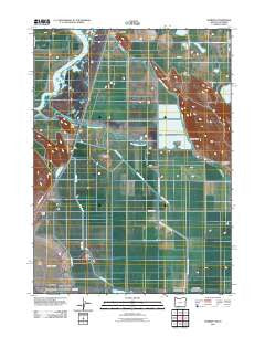 Worden Oregon Historical topographic map, 1:24000 scale, 7.5 X 7.5 Minute, Year 2011