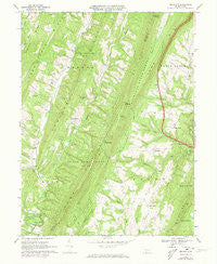 Amaranth Pennsylvania Historical topographic map, 1:24000 scale, 7.5 X 7.5 Minute, Year 1967