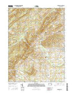 Arendtsville Pennsylvania Current topographic map, 1:24000 scale, 7.5 X 7.5 Minute, Year 2016 from Pennsylvania Map Store