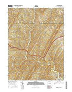 Artemas Pennsylvania Current topographic map, 1:24000 scale, 7.5 X 7.5 Minute, Year 2016 from Pennsylvania Map Store