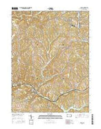Avella Pennsylvania Current topographic map, 1:24000 scale, 7.5 X 7.5 Minute, Year 2016 from Pennsylvania Map Store