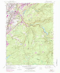 Avoca Pennsylvania Historical topographic map, 1:24000 scale, 7.5 X 7.5 Minute, Year 1946