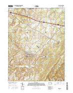 Berlin Pennsylvania Current topographic map, 1:24000 scale, 7.5 X 7.5 Minute, Year 2016 from Pennsylvania Map Store