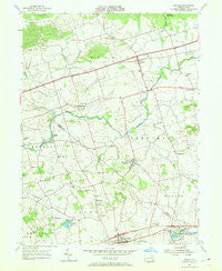 Bethel Pennsylvania Historical topographic map, 1:24000 scale, 7.5 X 7.5 Minute, Year 1955