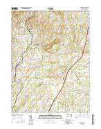 Biglerville Pennsylvania Current topographic map, 1:24000 scale, 7.5 X 7.5 Minute, Year 2016 from Pennsylvania Map Store
