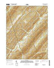 Blairs Mills Pennsylvania Current topographic map, 1:24000 scale, 7.5 X 7.5 Minute, Year 2016 from Pennsylvania Maps Store