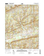 Brodheadsville Pennsylvania Current topographic map, 1:24000 scale, 7.5 X 7.5 Minute, Year 2016 from Pennsylvania Map Store