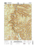 Carman Pennsylvania Current topographic map, 1:24000 scale, 7.5 X 7.5 Minute, Year 2016 from Pennsylvania Map Store