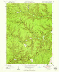 Cherry Springs Pennsylvania Historical topographic map, 1:24000 scale, 7.5 X 7.5 Minute, Year 1947