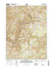 Commodore Pennsylvania Current topographic map, 1:24000 scale, 7.5 X 7.5 Minute, Year 2016 from Pennsylvania Maps Store