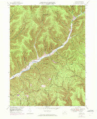Conrad Pennsylvania Historical topographic map, 1:24000 scale, 7.5 X 7.5 Minute, Year 1947