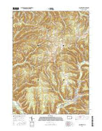 Coudersport Pennsylvania Current topographic map, 1:24000 scale, 7.5 X 7.5 Minute, Year 2016 from Pennsylvania Map Store