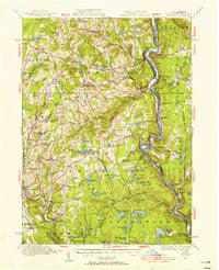 Damascus Pennsylvania Historical topographic map, 1:62500 scale, 15 X 15 Minute, Year 1920