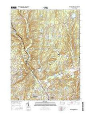 East Stroudsburg Pennsylvania Current topographic map, 1:24000 scale, 7.5 X 7.5 Minute, Year 2016 from Pennsylvania Maps Store
