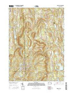 Forest City Pennsylvania Current topographic map, 1:24000 scale, 7.5 X 7.5 Minute, Year 2016 from Pennsylvania Map Store