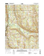 Greenville East Pennsylvania Current topographic map, 1:24000 scale, 7.5 X 7.5 Minute, Year 2016 from Pennsylvania Map Store