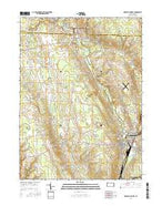 Greenville West Pennsylvania Current topographic map, 1:24000 scale, 7.5 X 7.5 Minute, Year 2016 from Pennsylvania Map Store