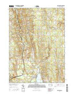 Harmonsburg Pennsylvania Current topographic map, 1:24000 scale, 7.5 X 7.5 Minute, Year 2016 from Pennsylvania Map Store