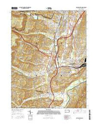 Hollidaysburg Pennsylvania Current topographic map, 1:24000 scale, 7.5 X 7.5 Minute, Year 2016