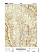 Jackson Center Pennsylvania Current topographic map, 1:24000 scale, 7.5 X 7.5 Minute, Year 2016 from Pennsylvania Map Store
