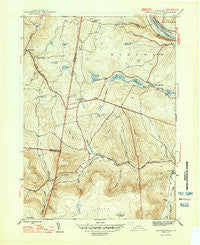 Jenningsville Pennsylvania Historical topographic map, 1:31680 scale, 7.5 X 7.5 Minute, Year 1947