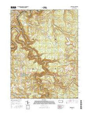 Karthaus Pennsylvania Current topographic map, 1:24000 scale, 7.5 X 7.5 Minute, Year 2016 from Pennsylvania Maps Store