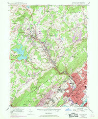 Kingston Pennsylvania Historical topographic map, 1:24000 scale, 7.5 X 7.5 Minute, Year 1946
