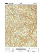 Lake Como Pennsylvania Current topographic map, 1:24000 scale, 7.5 X 7.5 Minute, Year 2016 from Pennsylvania Map Store