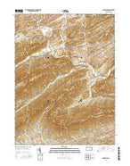 Landisburg Pennsylvania Current topographic map, 1:24000 scale, 7.5 X 7.5 Minute, Year 2016 from Pennsylvania Map Store