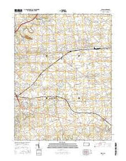 Leola Pennsylvania Current topographic map, 1:24000 scale, 7.5 X 7.5 Minute, Year 2016 from Pennsylvania Maps Store