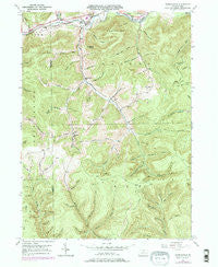 Marshlands Pennsylvania Historical topographic map, 1:24000 scale, 7.5 X 7.5 Minute, Year 1947