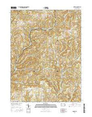 McIntyre Pennsylvania Current topographic map, 1:24000 scale, 7.5 X 7.5 Minute, Year 2016 from Pennsylvania Maps Store