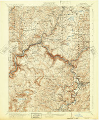 Meyersdale Pennsylvania Historical topographic map, 1:62500 scale, 15 X 15 Minute, Year 1921