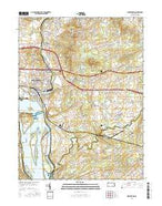 Middletown Pennsylvania Current topographic map, 1:24000 scale, 7.5 X 7.5 Minute, Year 2016 from Pennsylvania Map Store