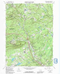 Mount Pocono Pennsylvania Historical topographic map, 1:24000 scale, 7.5 X 7.5 Minute, Year 1966