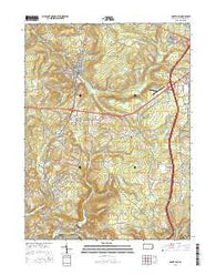 Nanty Glo Pennsylvania Current topographic map, 1:24000 scale, 7.5 X 7.5 Minute, Year 2016