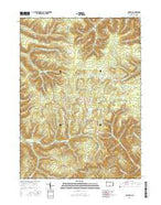 Norwich Pennsylvania Current topographic map, 1:24000 scale, 7.5 X 7.5 Minute, Year 2016 from Pennsylvania Map Store