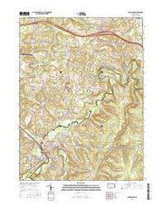 Philipsburg Pennsylvania Current topographic map, 1:24000 scale, 7.5 X 7.5 Minute, Year 2016 from Pennsylvania Maps Store
