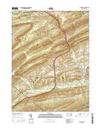 Pine Grove Pennsylvania Current topographic map, 1:24000 scale, 7.5 X 7.5 Minute, Year 2016 from Pennsylvania Map Store