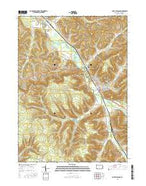 Port Allegany Pennsylvania Current topographic map, 1:24000 scale, 7.5 X 7.5 Minute, Year 2016 from Pennsylvania Map Store