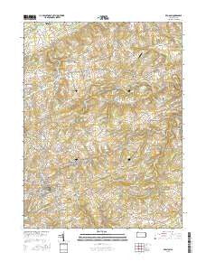 Red Lion Pennsylvania Current topographic map, 1:24000 scale, 7.5 X 7.5 Minute, Year 2016