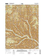 Rich Valley Pennsylvania Current topographic map, 1:24000 scale, 7.5 X 7.5 Minute, Year 2016 from Pennsylvania Map Store