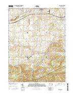 Richland Pennsylvania Current topographic map, 1:24000 scale, 7.5 X 7.5 Minute, Year 2016 from Pennsylvania Map Store