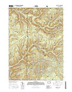 Russell City Pennsylvania Current topographic map, 1:24000 scale, 7.5 X 7.5 Minute, Year 2016 from Pennsylvania Map Store