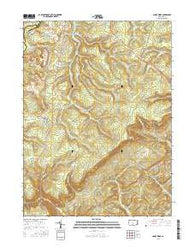 Sandy Ridge Pennsylvania Current topographic map, 1:24000 scale, 7.5 X 7.5 Minute, Year 2016