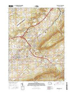 State College Pennsylvania Current topographic map, 1:24000 scale, 7.5 X 7.5 Minute, Year 2016 from Pennsylvania Map Store