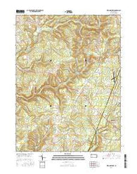 Strongstown Pennsylvania Current topographic map, 1:24000 scale, 7.5 X 7.5 Minute, Year 2016