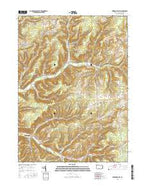 Sweden Valley Pennsylvania Current topographic map, 1:24000 scale, 7.5 X 7.5 Minute, Year 2016 from Pennsylvania Map Store