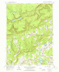 Sweet Valley Pennsylvania Historical topographic map, 1:24000 scale, 7.5 X 7.5 Minute, Year 1946